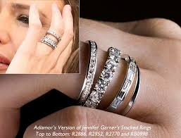 stackable wedding bands garner eternity bands archives adiamor