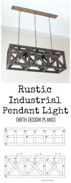rustic industrial pendant lighting materialize fabulous decor with these 17 diy pendant light ideas