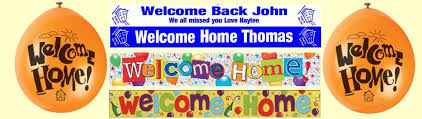 Welcome Home Decorations Welcome Home Party Supplies U0026 Decorations Party Wizard