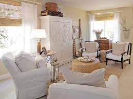 White Slipcovered Sofa by Photo Page Hgtv