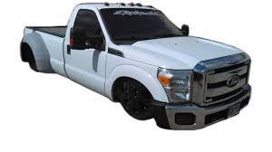 Ford F350 Truck Body - fiberglass rear dually fenders adapters wheels conversion kits