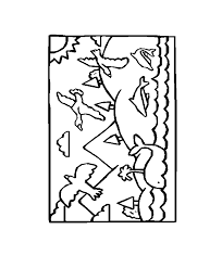 bluebonkers bible coloring sheets the creation day 5
