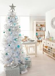 Christmas Tree Decorations Light Blue by Home Christmas Decoration Christmas Decoration Ideas For White