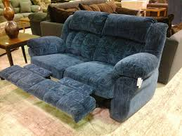 Lazy Boy Leather Sofa Recliners Blue Velvet Two Seat Lazy Sofa With Armrest And Pillow Top