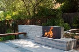 steel outdoor fireplace foter