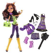 monster high clawdeen wolf halloween costume monster high doll with fashion clawdeen wolf toys