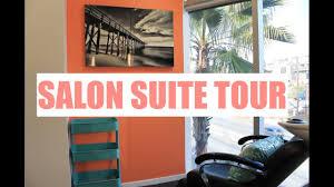 Small Space Salon Ideas - salon suite tour small space storage ideas brittney gray