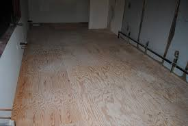 Sub Floor by How To Apply A Decorative Finish To Plywood Sub Floors Seattle