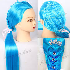 hairstyles to do on manikin red synthetic hair professional styling doll head with wig female