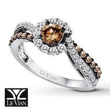 kay jewelers mn chocolate diamond ring by le vian i love rings pinterest