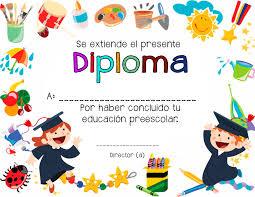 diplomas de primaria descargar diplomas de primaria certificado de diploma de escuela infantil estudios pinterest