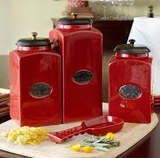 Red Kitchen Accessories Ideas 48 Best Seeing Red Images On Pinterest Kitchen Ideas Kitchen