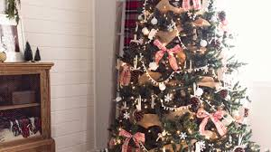 rustic christmas christmas tree themes for any style southern living