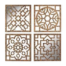 brilliant decoration mirrored wall panels innovation idea mosaic