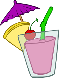 Milkshake Clipart Tropical Cocktail Pencil And In Color