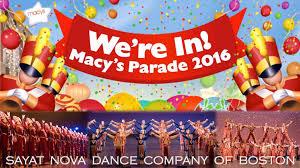 boston s sayat company to perform at 90th macy s
