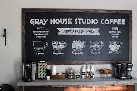 The Coffee Table by Diy Coffee Bar Gray House Studio