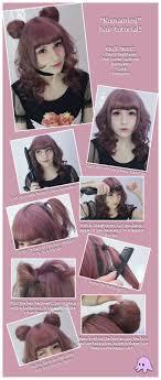 kawaii hairstyles no bangs résultat de recherche d images pour kawaii hairstyle tutorial