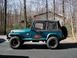 jeep wrangler turquoise tj flares on a yj u2013 swbcrawler