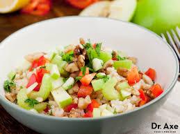 brown rice salad recipe draxe com