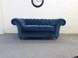 Ebay Chesterfield Sofa by Handmade Warwick Plush Velvet Fabric Chesterfield Sofa Available