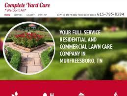 Landscaping Murfreesboro Tn by Complete Yard Care Landscape Service Murfreesboro
