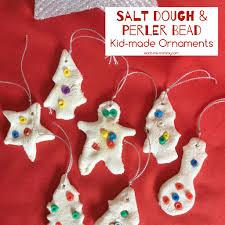 salt dough u0026 perler bead ornaments teach me mommy
