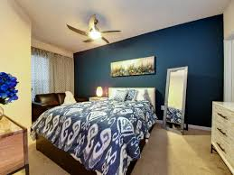 warm blue walls color schemes bedroom accent wall brown wall