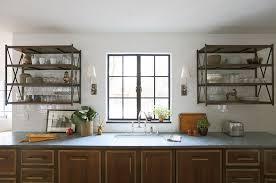Kitchen Metal Shelves by Brass Kitchen Wall Shelving Unit Design Ideas