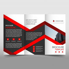 free tri fold business brochure templates creative trifold business brochure template vector free