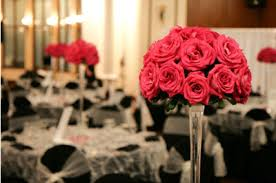 Red Roses Centerpieces Bride Ca Wedding Flowers 101 A New Bride Introduction