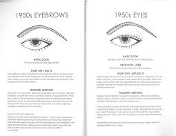 1950s how to create the 1950s arched eyebrow eye makeup for the