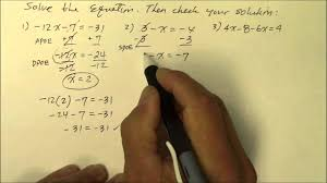 508gm solve multi step equations negative coefficients youtube