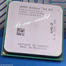 si e d athlon amd athlon 64 x2 6000 3ghz dual ada6000iaa6cz processor ebay