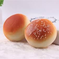 sesame decorations 2pc artificial toast bread ornaments for bakery cake room