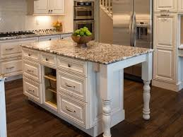 white kitchen island with granite top ideas for kitchen