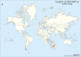 Malawi Map Maps