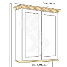 Kitchen Cabinet Crown Molding by Best 25 Cabinet Molding Ideas On Pinterest Kitchen Cabinet