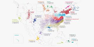 Usa Map Test by 770 000 Tubes Of Spit Help Map America U0027s Great Migrations Wired