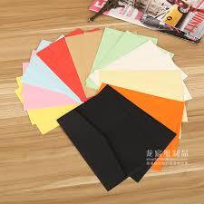 color paper series colored envelopes solid envelope blank postcard