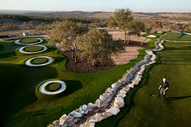 backyard golf course home outdoor decoration