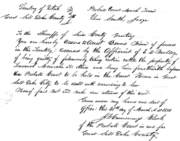 nice writing paper national handwriting day 2013 salt lake county archives salt lake county probate court civil and criminal case files march 31 1853