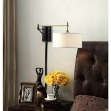 Swing Arm Wall Sconce Hardwired Swing Arm Wall Sconce Hardwired Swing Arm Wall Sconce Aged Brass 1