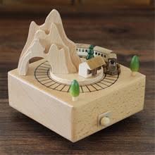 Kids Wood Crafts - popular train music box buy cheap train music box lots from china