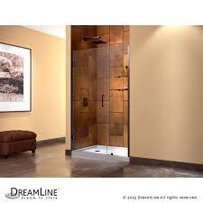 Shower Door Hinged by Dreamline Showers Unidoor Hinged Shower Door