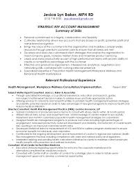 Mit Sample Resume by Strategic Key Account Management Resume 4 7 2011