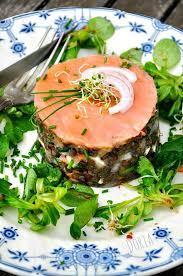 la cuisine de dorian saumon fumé en terrine de lentilles vertes la cuisine de doria