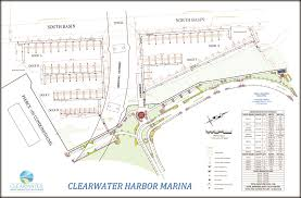 Safety Harbor Florida Map by Marina Info City Of Clearwater Fl