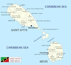 Map Of Turks And Caicos Geography Of Saint Kitts And Nevis Wikipedia