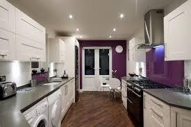cuisine couleur aubergine beau beautiful cuisine mur violet s